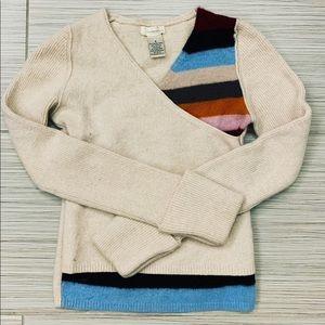 Sleeping on snow sweater